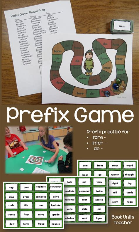 printable suffix games peter pan book unit word study book units teacher