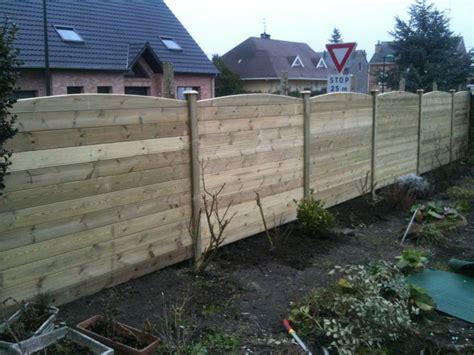 cloture en bois pour jardin pas cher construction cloture bois cloture bois sur mesure en kit