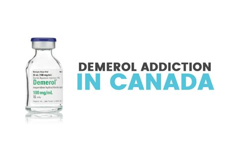 Demerol Detox by Demerol Addiction In Canada Signs Symptoms Treatment