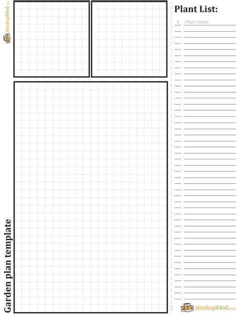 planner design templates garden plans and template pdf