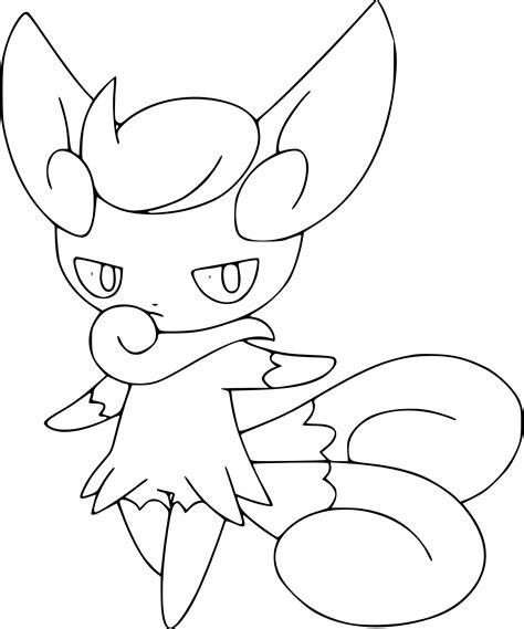 Coloriage Mistigrix Pokemon 224 Imprimer