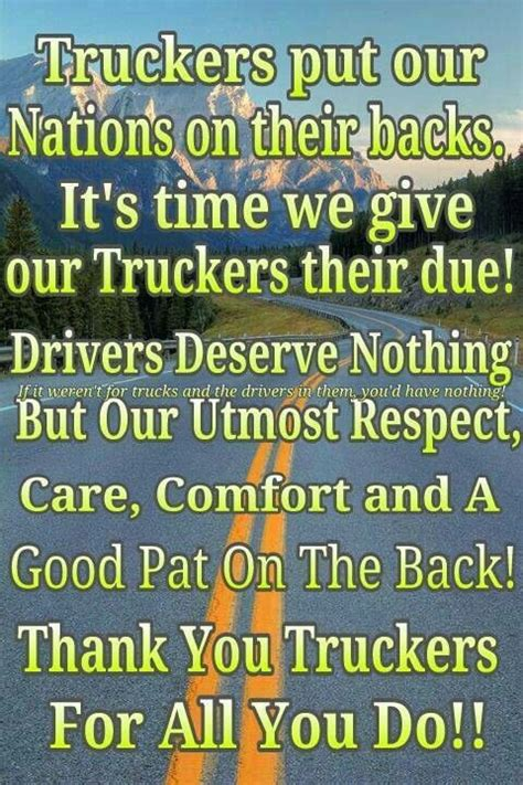 Thank You Letter After For Driver 25 Best Images About Thank A Trucker On Trucks