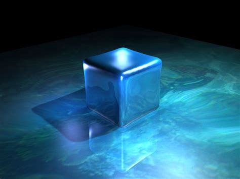 wallpaper blue cube reflective blue cube wallpaper by darksfisher7 on deviantart