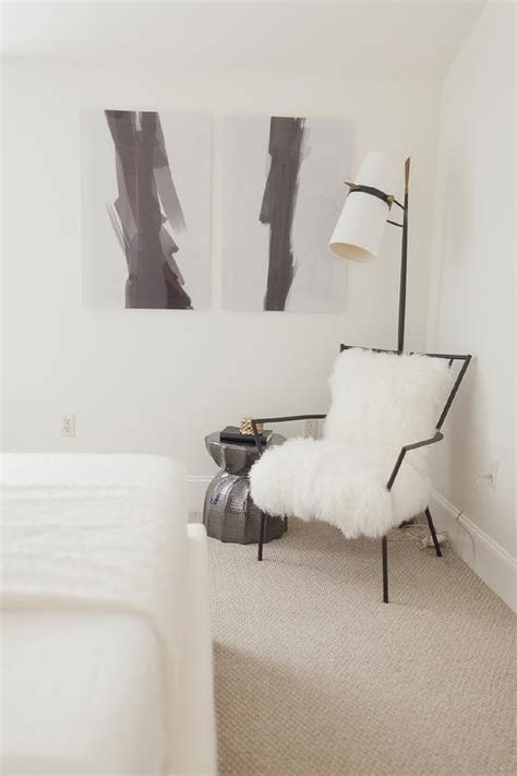 chair in bedroom corner black and white bedroom reading corner contemporary