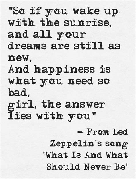 tattoo song lyrics the 25 best led zeppelin lyrics ideas on led
