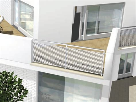 ringhiera per finestra parapetto per finestra e balcone in rete stirata parapetto