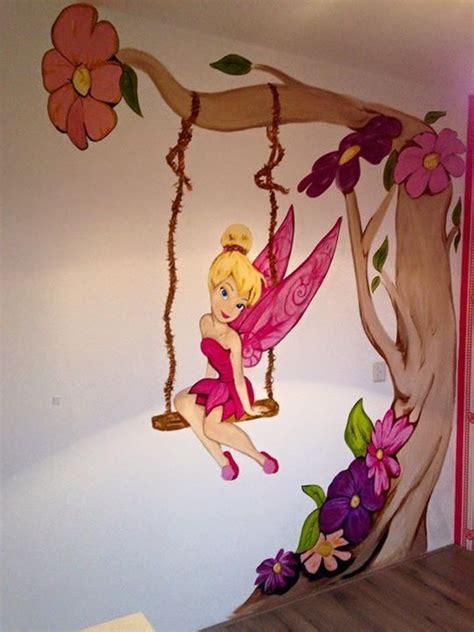 tinkerbell kinderzimmer deko tinkerbell muurschildering regio gelderland kinderzimmer