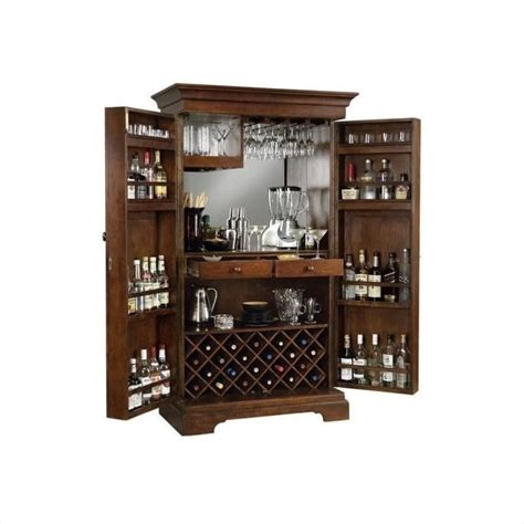classic cherry large wrap around home bar 62578axche