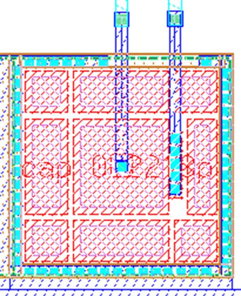 layout capacitor nmos ic layout