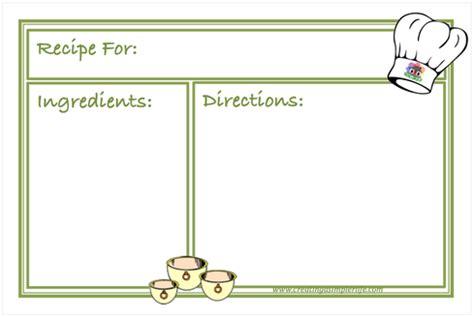 recipe card template docx organize your recipe book creating a simpler