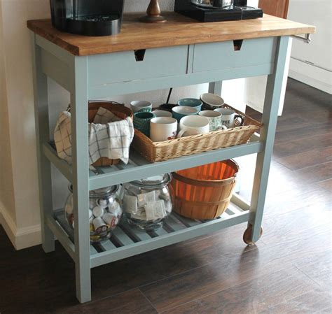 Kitchen Coffee Cart by 18 Simple Ikea Kitchen Hacks Grillo Designs