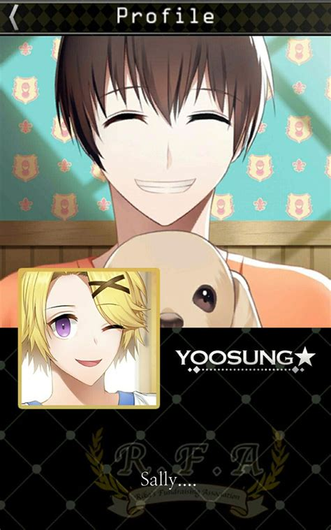 profile yoosung  sally dog mysticmessenger