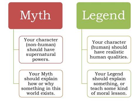 myths legends of myths and legends