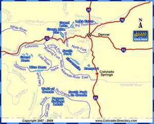 fishing maps colorado colorado map of fishing in rivers lakes streams