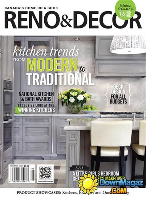 home design magazines 2015 reno decor april may 2015 187 download pdf magazines