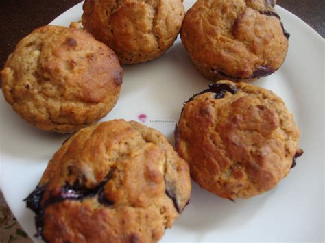 healthy fats for vegan toddlers tastefully veggie vegan fruity muffin low calorie