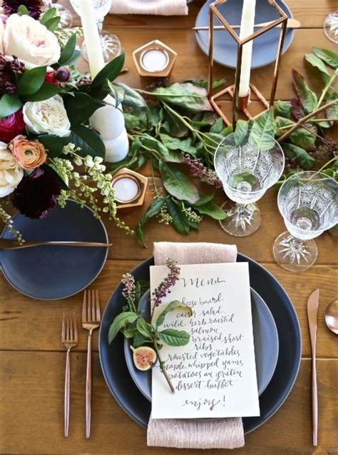 bridal shower dinner table best 25 place settings ideas on pinterest table