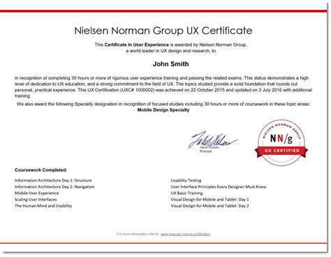 certification letters after your name benefits of ux certification certificate in education