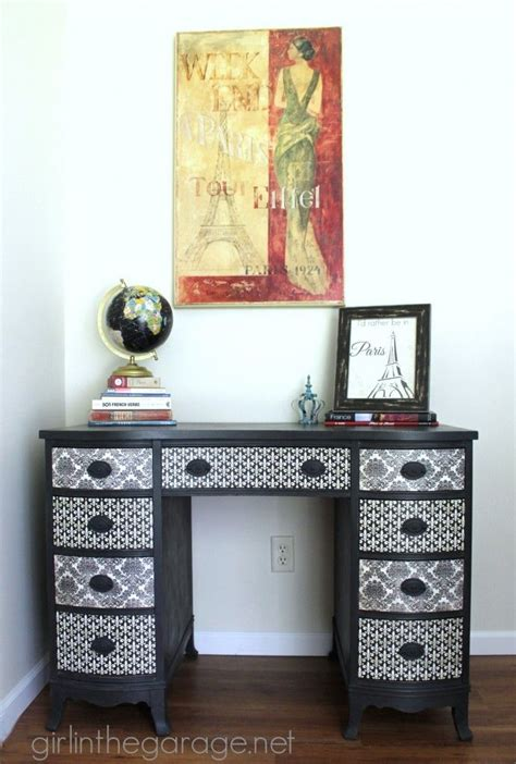 Decoupage Paper For Furniture - best 25 vintage desks ideas on chalk paint
