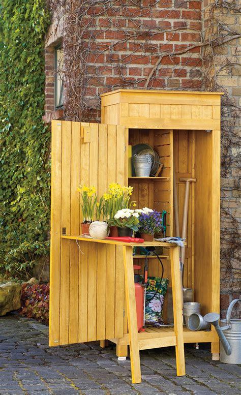 Garten Geräteschrank Holz by Gartenger 228 Teschrank Ger 228 Teschrank Selbst De