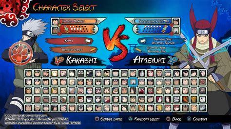 naruto shippuden ultimate ninja storm  gameplay youtube