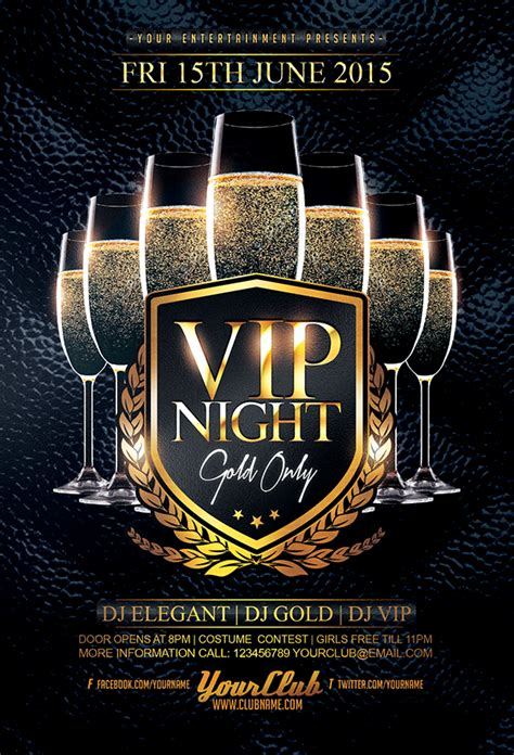 template flyer vip wg designers on twitter quot vip night flyer template