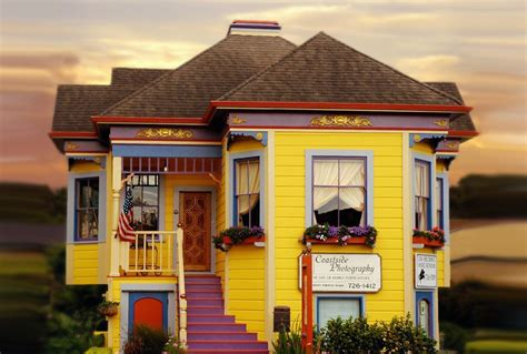 colorfu houses painting want to go wild on exterior paint colors read this first