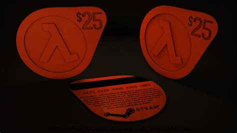Steam 2 Gift Card - half life 2 steam gift card by bg3productions on deviantart
