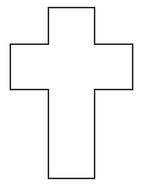 cross coloring page download free cross coloring page