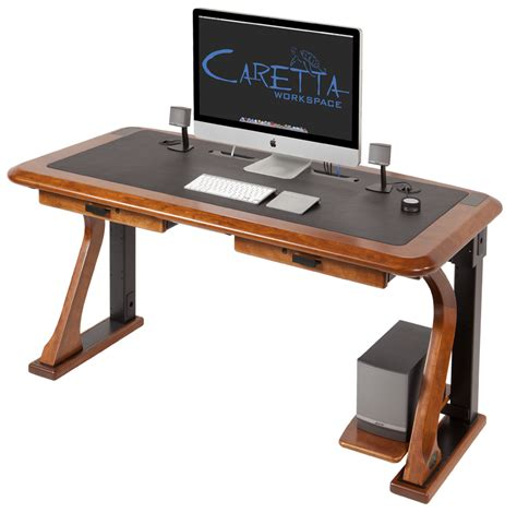 high end computer desks artistic computer desk 2 caretta workspace