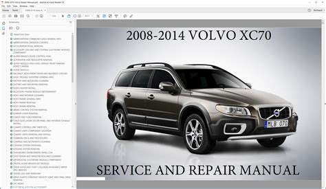 service manual 2007 volvo xc70 engine overhaul manual service manual how adjust rpm 2007