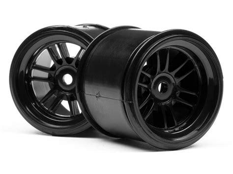Hpi Racing 103016 Bridgestone High Grip Ft01 Slick Tyre M Front New 102824 ft01 felgen set schwarz je 2st vorne hinten