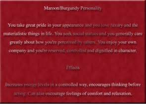 maroon color meaning color maroon burgundy color psychology personality meaning
