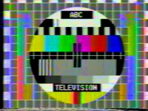 tv test pattern australia abc test pattern australian station id 1975 youtube