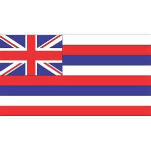 hawaii state colors hawaii state flag iron on sticker hawaii state flag iron