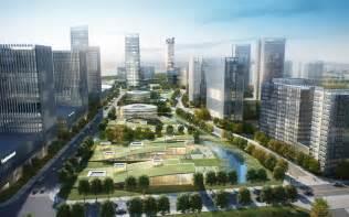 Urban Designer xiasha eco business park wins 2013 aiacc award for urban