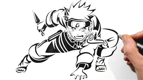 naruto tribal tattoo design drawing at getdrawings free for