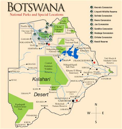 africa map botswana africa safari journey photos