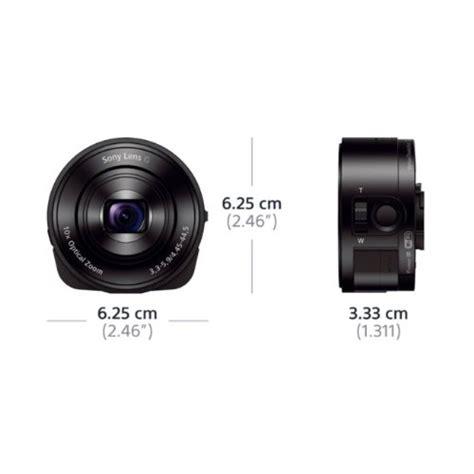 Sony Dsc Qx10 Lens Style Lensa Kamera Black 1 sony cyber digital lens style new qx10