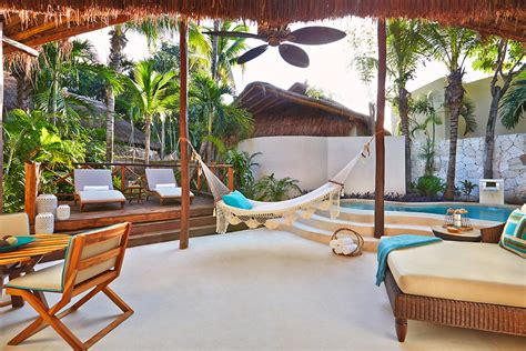 Minimalistic Bed viceroy riviera maya signature villa luxury holiday
