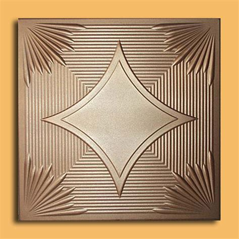 Foam Drop Ceiling Tiles Foam Metallic Bronze Antique Ceilings Glue Up Ceiling