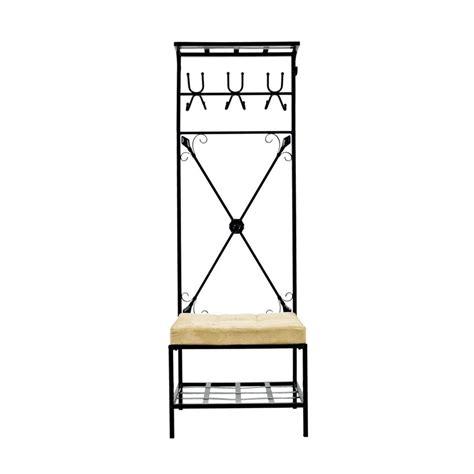 Stand Hook shop boston loft furnishings black 12 hook coat stand at lowes