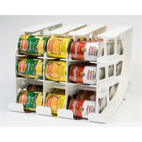 soup can holder for pantry fifo can tracker food storage can rotator pantry shelf