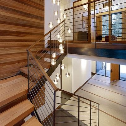 Wood Stair Banisters Modern Railing Design Pictures Remodel Decor And Ideas