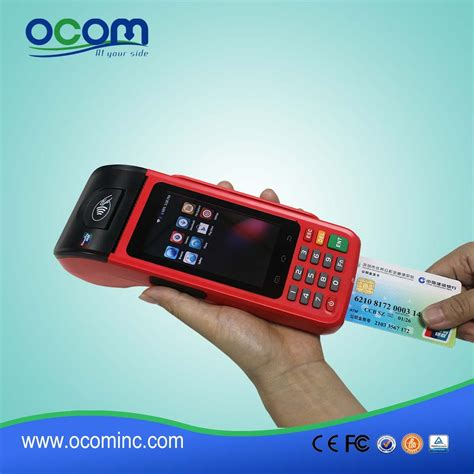 wireless mobile wireless smart mobile pos terminal with ic card