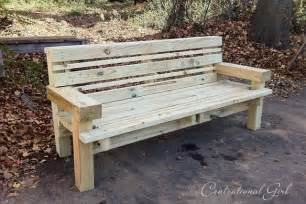 building benches the gift of good centsational