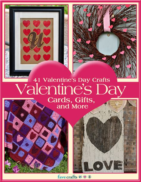 Cards Gifts And More - 41 valentine s day crafts valentine s day cards gifts and more free ebook