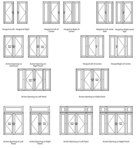 Aluminum french doors   Thermal aluminium