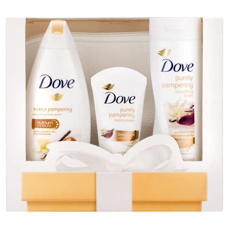 Dove Gift Pouch dove be you wash bag gift set free delivery