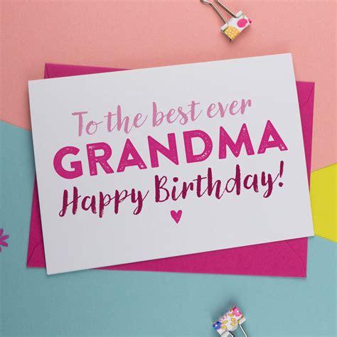 printable birthday cards nanny birthday card for gran nan nanny granny grandma by a